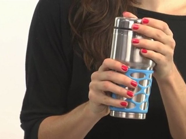 The Amazing Rubber Grip Travel Mug