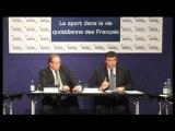 """""""Le sport dans la vie quotidienne des Français"""""""
