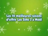 10 bonnes raisons d'offrir les Sims 3 pour Noël !