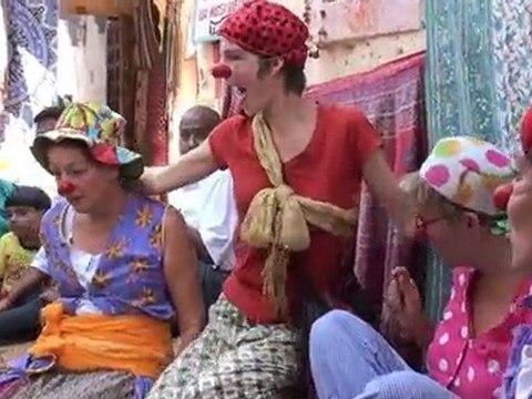 Ballade clown à jaisalmer