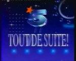La Cinq 25 Décembre 1990 Jingle - ba - pubs