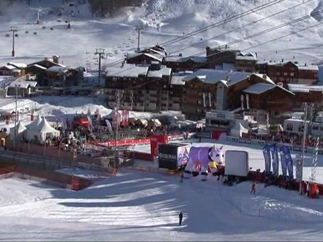 Val d'Isère en mode Critérium