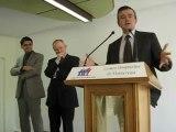 inauguration bâtiment polyvalent hôpital montereau : y.jégo