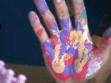 """Peinture Hugo DURAS, projet artistique """"L'univers de..."""""""