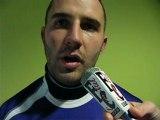 Richard Savey après Bourg - Dijon (rugby)