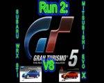Mitshubishi Lancer Evo X vs Subaru Impreza WRX STI [GT5]