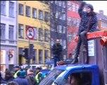 Manifestation pour les réfugiés climatiques à Copenhague