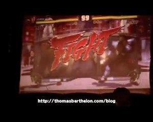 Finale TGS 2009 Street Fighter 4 : Antares VS David