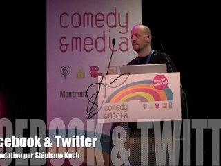 Facebook et Twitter par Stéphane Koch