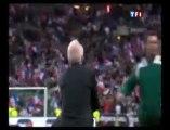 La main de Thierry Henry lors du match France Irlande