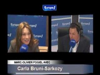 La question de Fogiel à Carla Bruni qui a excédé Sarkozy