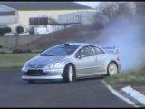 Essais 2007 - Peugeot 206 & 307 WRC - Vauthier / Perreira