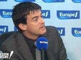 Manuel Valls répond aux questions de Marc-Olivier Fogiel