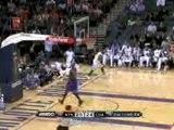 NBA Gerald Wallace throws down a windmill jam on the break w