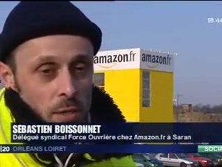 FO - Grève Amazon.fr du 15/12/09