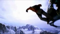 extreme snow sport freestyle jumping