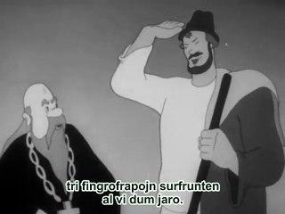Fabelo pri popo kaj lia dungito Balda (1940) 1/2