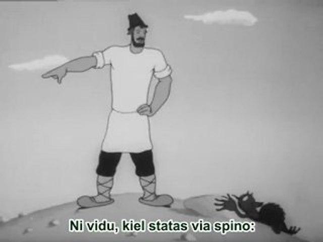Fabelo pri popo kaj lia dungito Balda (1940) 2/2