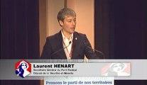 Congrès 09 - discours de Laurent Hénart