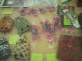 Stand des Chats Libres au marché de Noël à St-Gervasy