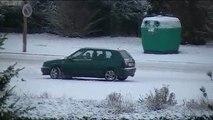 hersin sous la neige sa glisse dans le pas de calais 2009