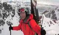 ·٠•● Du Sommet à la Mer٠• Randonnée à Ski ·Lofoten,Norvège·٠