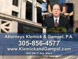 Klemick & Gampel! Miami Lawyers, Personal Injury, Miami FL