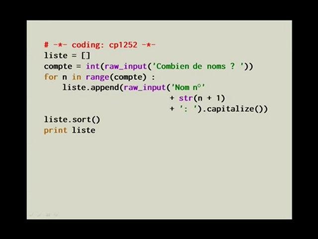 Pythonnerie n°6