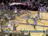 NBA Gerald Wallace runs down Ronnie Brewer on the break and