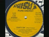 80's soul/funk disco music - Pure Energy - Party on 1980