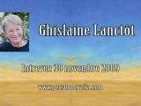 Ghislaine Lanctôt - Entrevue 30 novembre 2009 3-5