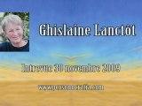 Ghislaine Lanctôt - Entrevue 30 novembre 2009 2-5