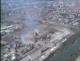 Vidéo des dégâts de l'explosion de l'usine AZF