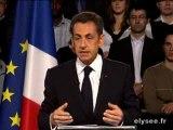 Le discours de Nicolas Sarkozy à Saint-Quentin