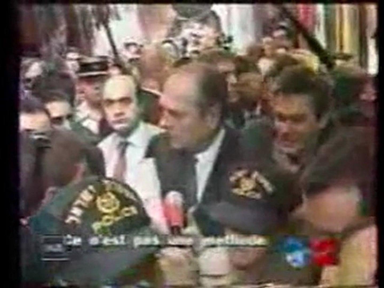 Image result for Chirac s'énerve à jérusalem