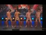Quatre jeunes Suédois nus dans Incroyable talent