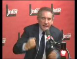 Vif échange François Bayrou et Nicolas Demorand