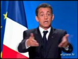Conférence de presse de Nicolas Sarkozy, le 8 janvier 2008