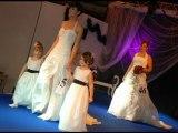 salon mariage Part6 defile robes mariees d' aphrodite