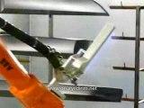ABB robot plastik alevleme - ABB robot flaming