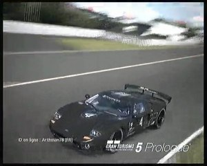 "Ford GT Test car ""drift"" susuka gran turismo 5 prologue"