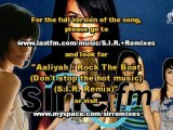 S.I.R. on radio SINE FM Aaliyah Rock the Boat Don't stop the