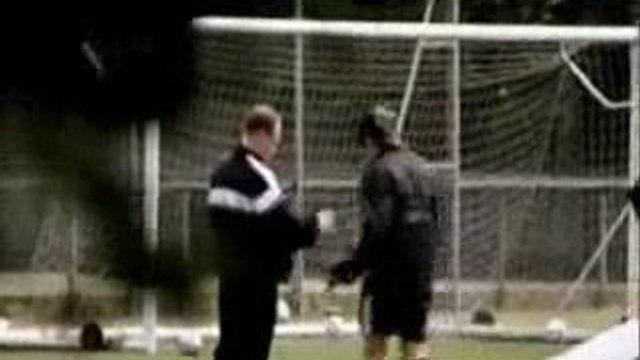 Italian Soccer Team Faking Injuries