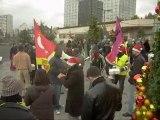 Manifestation des travailleurs sans papiers à Orléans