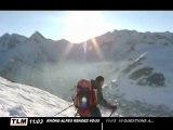 Ski freestyle dans les 2 Alpes (Isère)