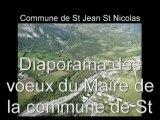 Les voeux du maire 2009 de la commune de St Jean St Nicoals