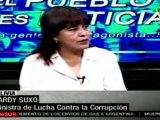 Bolivia mantendra investigaciones de corrupcion