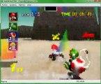 Mario Kart 64 W.T 1 La coupe champignon