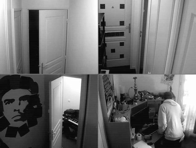 Cambriolage d'appartement filmé