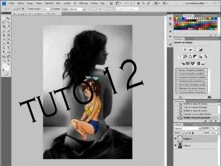 Visionnez les Cours Vidéo de Tatouer le dos d'une fille avec Photoshop
